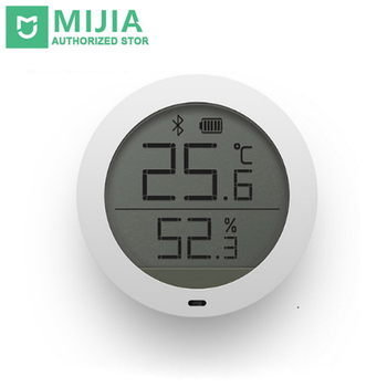 Original Xiaomi Mi Bluetooth Hygrothermograph High Sensitive Hygrometer Thermometer LCD Screen Magnetic Sticker Low Consume фото