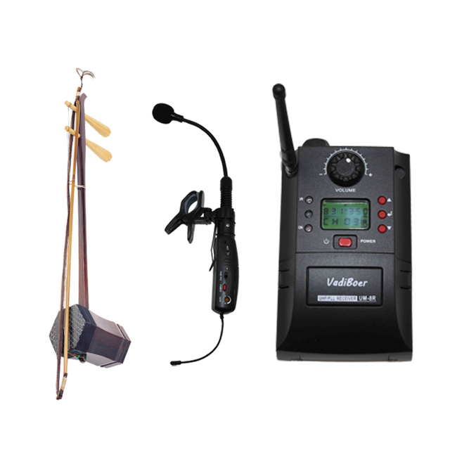 Vadiboer AH1 UHF PLL Instrument  gooseneck Instrument Wireless System Musical Instruments Microphone