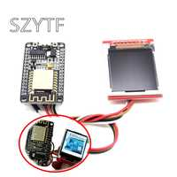 Kit de desarrollo ESP8266 con pantalla TFT, Mostrar imagen o palabra por Nodemcu Board DIY Kit CH340 NodeMcu V3 Lua WIFI