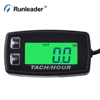 hour Meter Engine RPM Meter tachometer for Outboard Motor Jet Ski Snowmobile motorcycle ATV tractor paramotor pit bike chainsaw