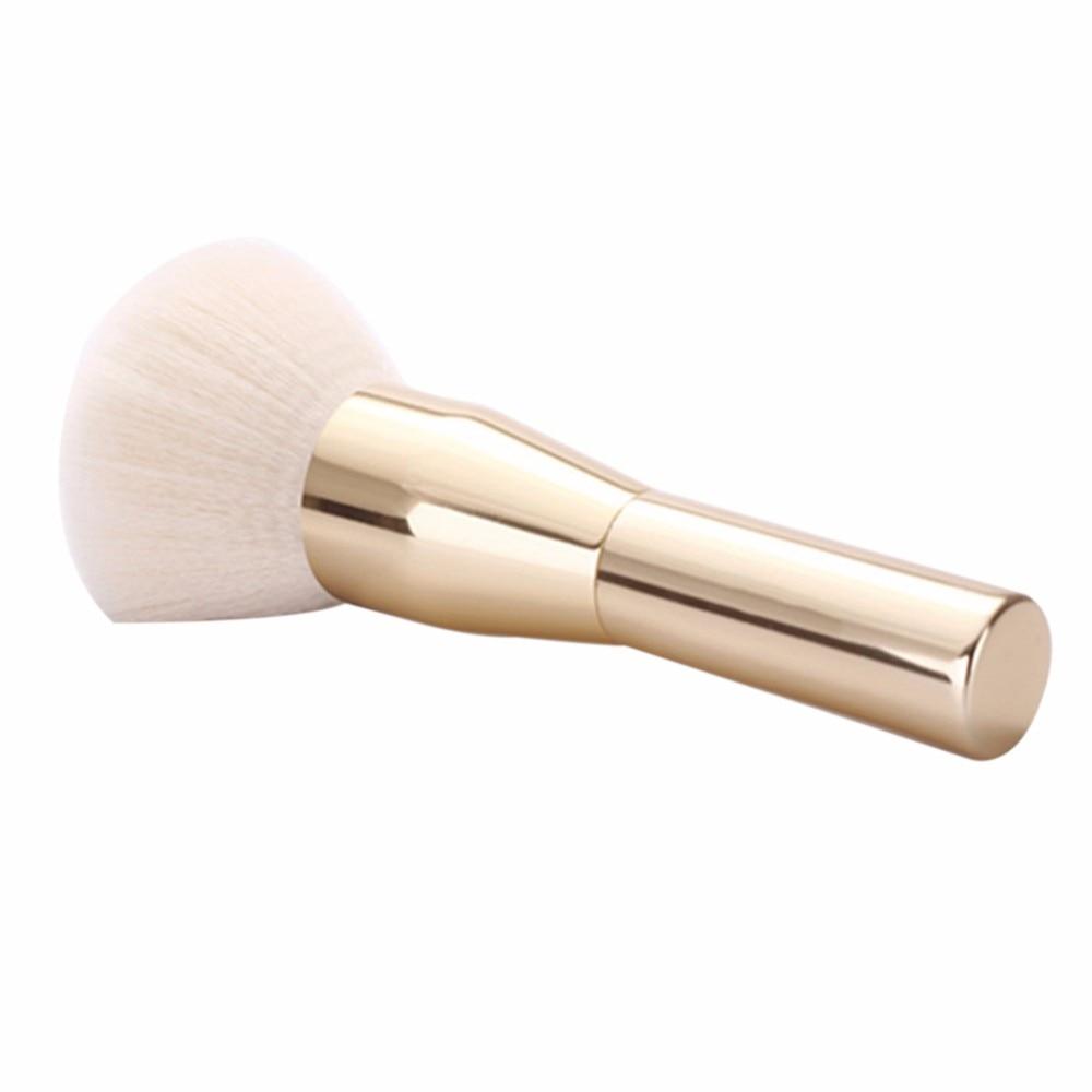 Rose Gold Powder Blush Makeup Brushes For Shading Foundation Base Contour Highlighter Make Up Brush Bronzer Concealer Cosmetic #2