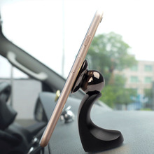 Magnetic Car Phone Holder 360 Degrees Rotation Auto Mobile Phone Stand for iPhone Samsung Smartphone Support GPS Mount Holder