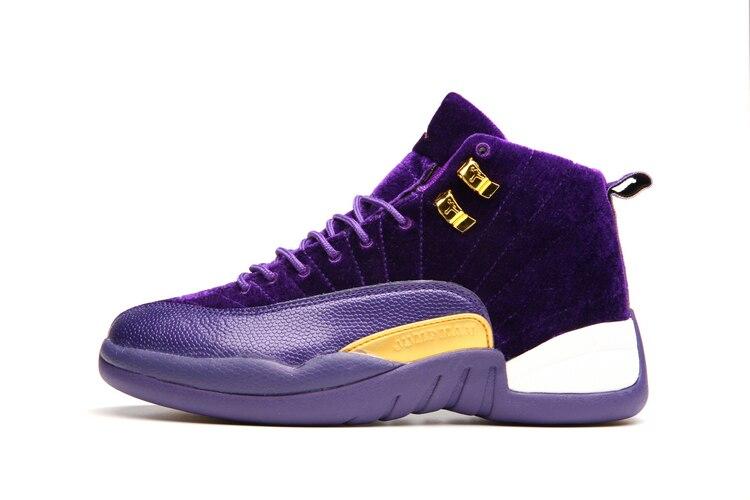 JORDAN Basketball Shoes High-Top Sneakers  Cushion Basketball Shoes Jordan  12 men and women shoes original li ning men professional basketball shoes