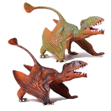 hot deal buy action&toy figures jurassic standing pterosauria dragon dinosaur pvc toys collection model plastic doll animal for kids gift