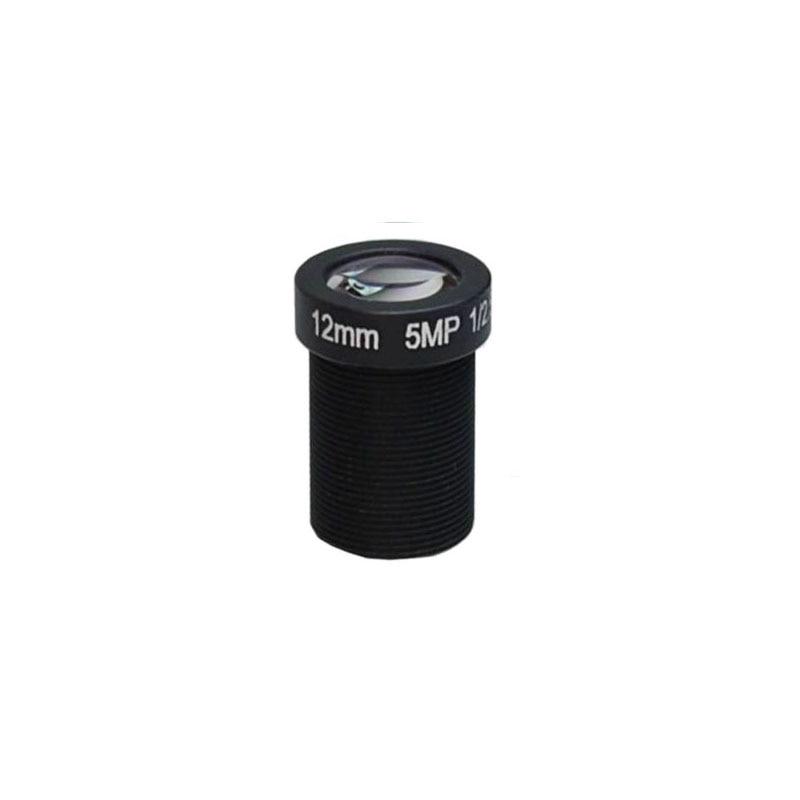 M12 12mm MTV board lens 1/2.5 IR CCTV lens 5MP1080P HD s mount lens for IP camera network camera Hikvision camera
