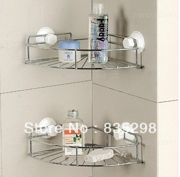 Fabulous Er Free Shipping Stainless Steel Shelving Racks Kitchen Bathroom  Corner Shelf Dual With Steel Racks For Kitchen