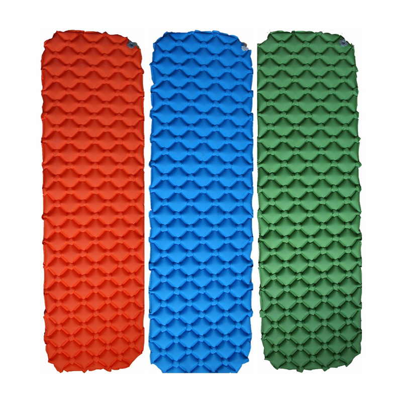 Ultralight Camping Mat TPU Inflatable Mattress Air Mattress Sleeping Pad Airbed Inflatable Bed Folding Bed Air Cusion CL018 ultralight inflatable mattress bed portable folding outdoor camping mat air mattress sleeping pad with pillow