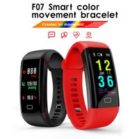 F07 Waterproof Smart Wristbands Bracelet Heart Rate Monitor Blood Pressure Fitness Tracker Smartband Sport Watch for ios android