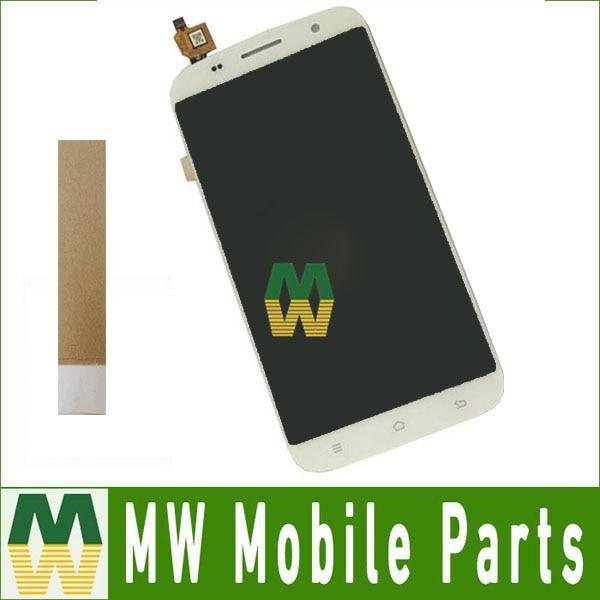 1 pc/lot Haute Qualité Pour ZOPO C7 ZP990 LCD Écran Affichage + Écran Tactile Digitizer Pièce De Rechange Blanc Couleur Avec outils