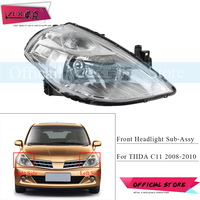 ZUK Front Bumper Headlight Headlamp For NISSAN TIIDA LATIO VERSA C11 2008 2009 2010 Head Light Head Lamp Sub Assy Replacement