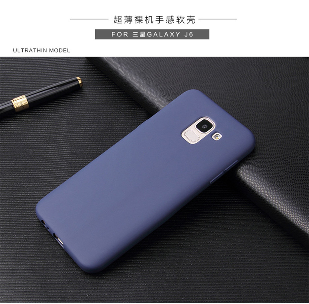 Ultra Thin Cell Phone Case For Samsung Galaxy S6 S7 Edge S8 S9 Plus S8Plus S9Plus soft TPU Silicone Back Cover _16