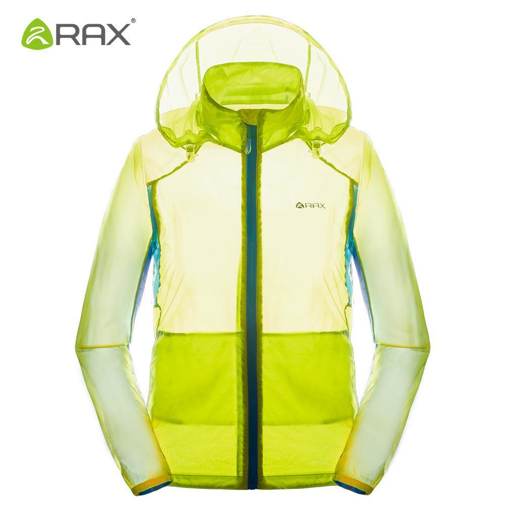 RAX Waterproof Windproof Hiking Jacket Men Summer Outdoor Breathable Jacket Women Coat Windbreaker Ultra-light Camping Jackets