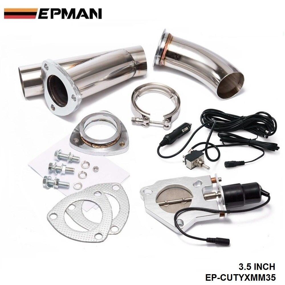 """3,"""" Электрический вырез/E-Cut Out клапан системы W/O переключатель для выхлопа Catback/Нисходящая труба для BMW e90 EP-CUTYXMM35"""