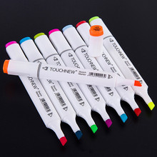 168 Colors Full set Drawing Art Markers Pen Set Oily Alcoholic Dual Headed Sketch Markers Animation