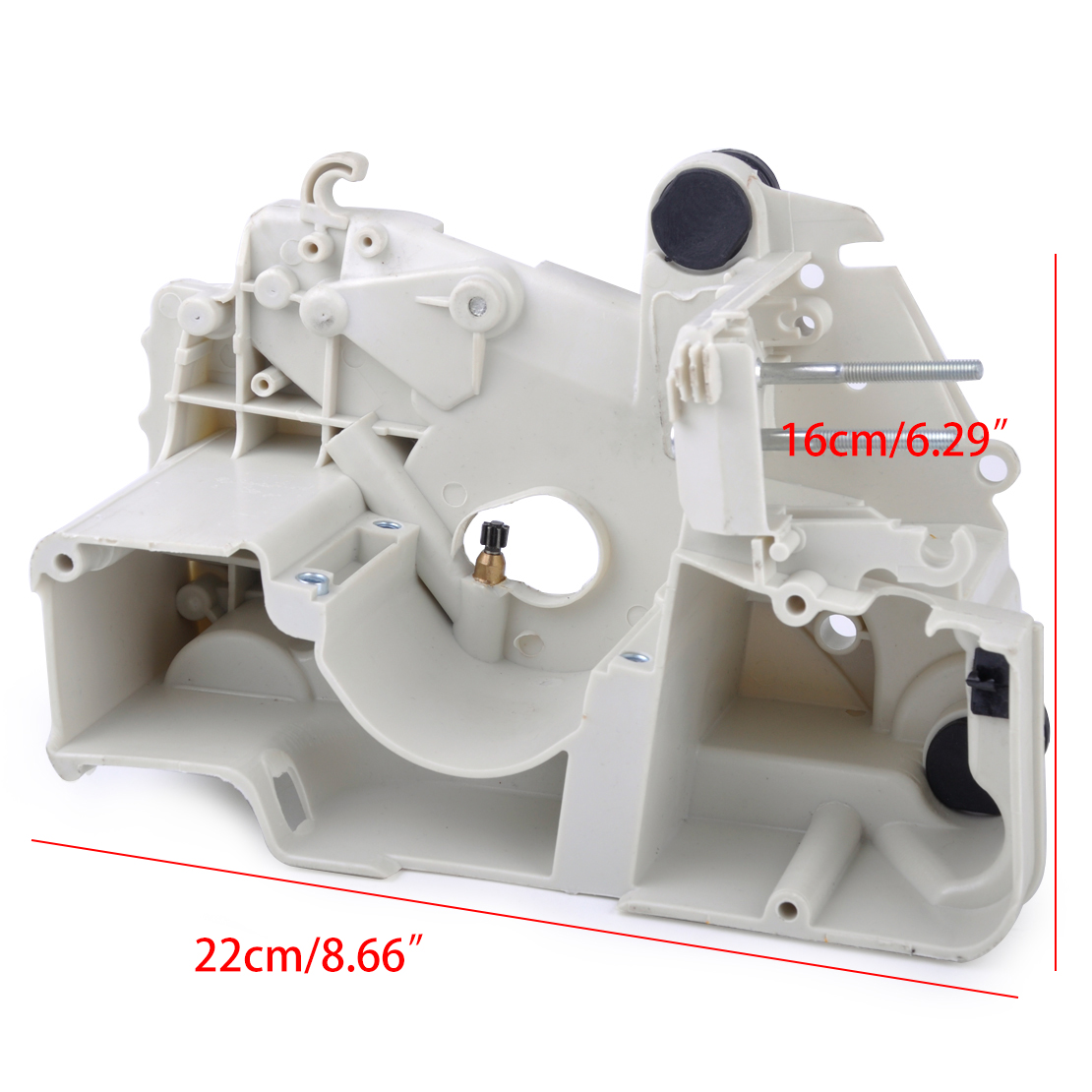 Image 2 - LETAOSK New Crankcase Oil Fuel Gas Tank Engine Housing Assembly Cover Fit For Stihl 017 018 MS170 MS180 Chainsaw Replaces Parts-in Tool Parts from Tools