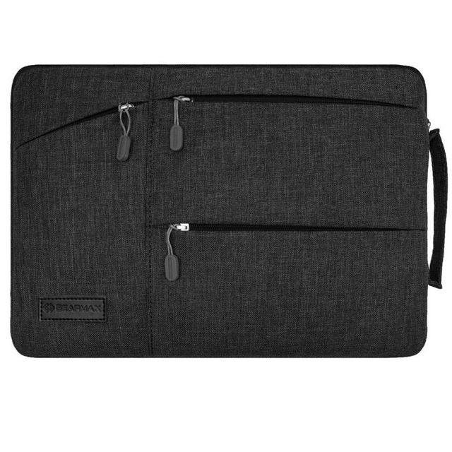 Черная Сумка для Ноутбука для Macbook Air/Pro 11 12 13 15.4 мужская сумка для Lenovo 14 Водонепроницаемый Ноутбук Сумка 13.3 Дюймов Laptop Sleeve 15.6