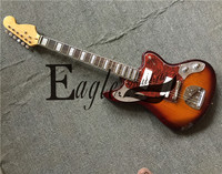 Eagle. Butterfly electric guitar, bass custom shop,Jaguar 21 P90 pickup Jazzsunset color electric guitar, available in stock
