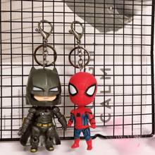 2019 Hot FUNKO POP Original Dragon Ball superman Avengers Spiderman Batman Suicide Squad Figure Doll Collectible Model KeyChain(China)