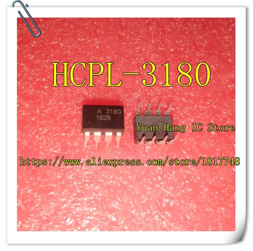 Free Shipping 10pcs/lot HCPL-3180 HCPL3180 MARKING A3180 3180 DIP8 IN STOCK AVAGO IC 10pcs lot hcpl2300 hcpl 2300 a2300 dip8