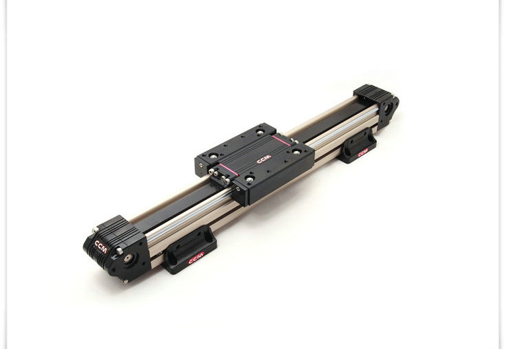 W50 1 Meter Length Timing Belt Linear Slide Linear Module Reciprocating Electric CNC Rail Rail Table (excluding Motor)
