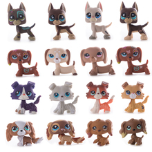 Rare Lps Pet Shop Toy 41 Style Free Shipping Original Shorthair Great Dane Cocker Spaniel Action figure toy for Children Gift недорго, оригинальная цена