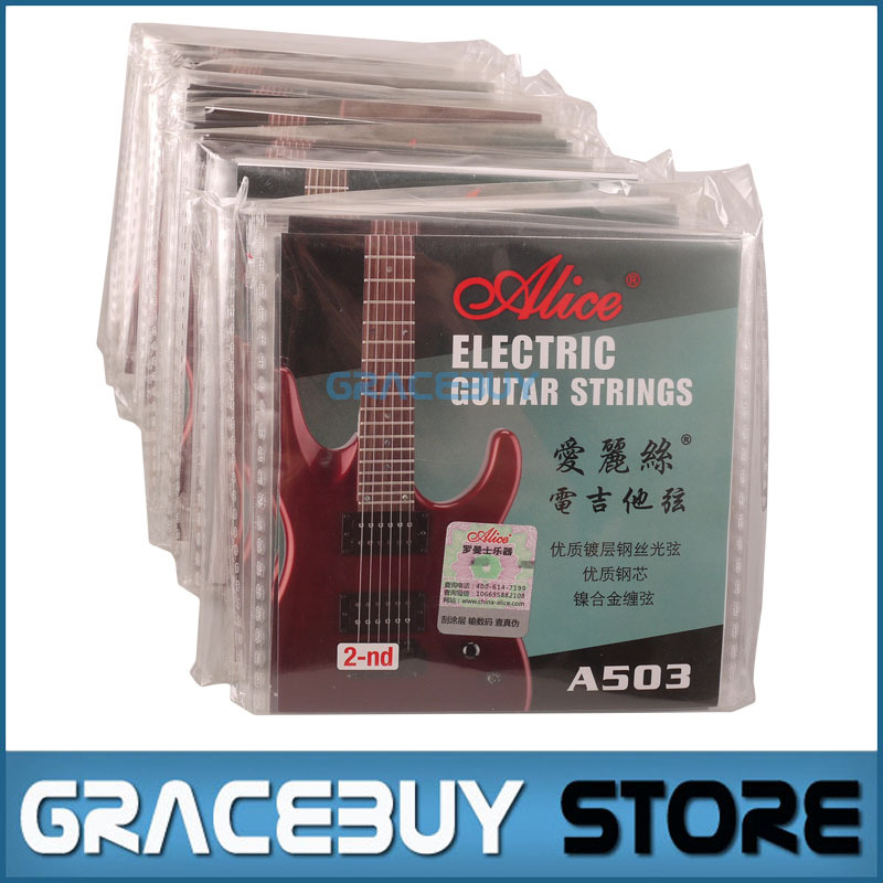 100 pcs Electric Guitar 2-nd 2nd B String Strings .011 0.28mm 011 0.28 A503 SL100 Durable encordoamento