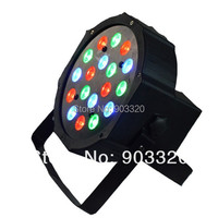 12X LOT Hot Sell 18*3W Brightness RGB LED Par Light With DMX512 Master Slave Stand,Mega Par Profile,Stage Light,DJ Light