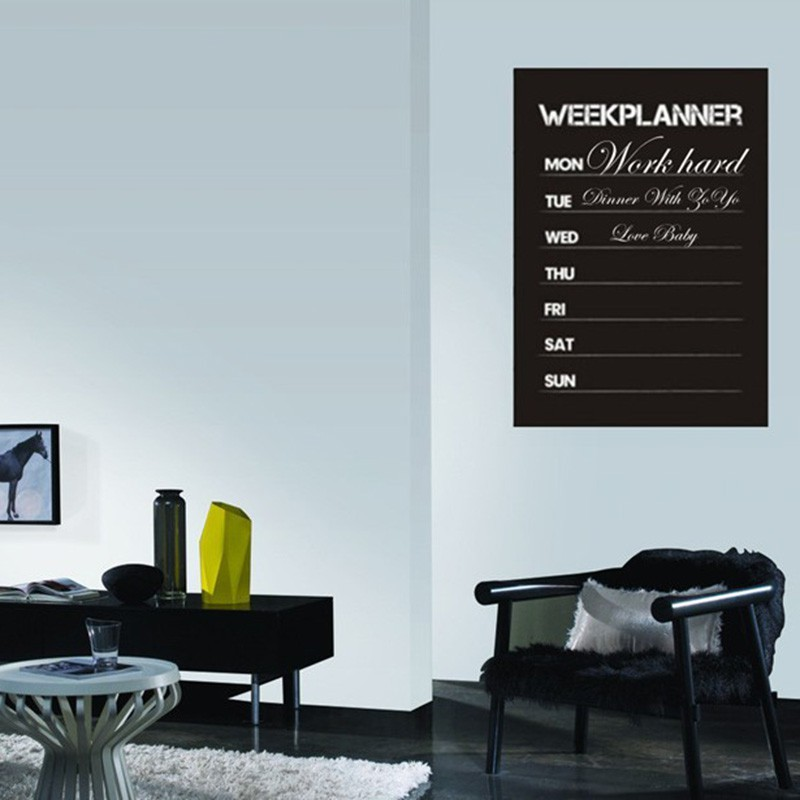 Home Decor Chalkboard: Aliexpress.com : Buy Wall Stickers Month Planner