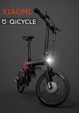 "original xiaomi smart electric bicyle qicycle EF1 portable mijia Qicycle e bike foldable pedelec ebike 1.8"" TFT screen monitor"