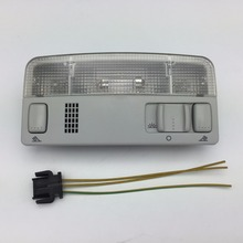 for VW Passat B5 Polo Touran Golf MK4 Skoda Octavia Gray Dome Light Reading Lamp Grey Color Wire Cable 1TD 947 105 3B0 947 105 C