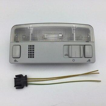 Для VW Passat B5 Polo Touran Golf MK4 Skoda Octavia серая купольная лампа для чтения серый цвет провод кабель 1TD 947 105 3B0 947 105 C