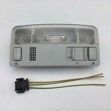 Для VW Passat B5 Мужские поло Touran Гольф MK4 Skoda Octavia серый плафон лампы Чтение серый Цвет Провода кабель 1td 947 105 3B0 947 105 c