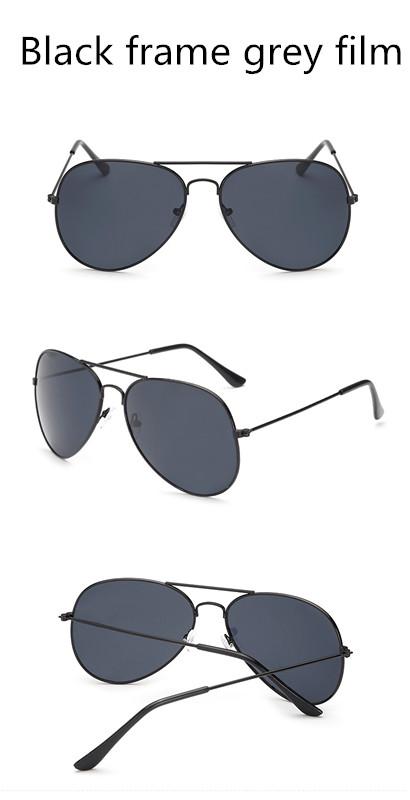 ASUOP2017 new men and women sunglasses pilots glasses high-end brand popular sun glasses goggles UV400 sunglasses sunglasses (15)