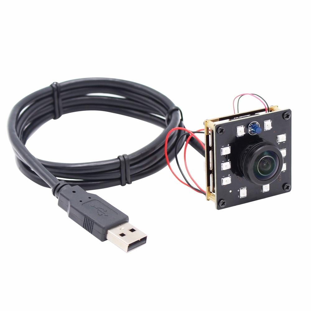 Fisheye 1080P IR infrared usb camera board 1 2 7 CMOS OV2710 day and night security