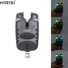 2pcs LED Fishing Alarms Indicators Bite Alarm Adjustable Volume Tone Sensitivity