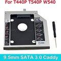 CHIPAL Профессиональный 2-й HDD Caddy 9,5 мм 2,5