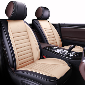 (Front+Rear)Leather Automobiles Seat Covers for Nissan X-trail t31 T32 Tiida Juke Teana Qashqai J10 murano accessories styling