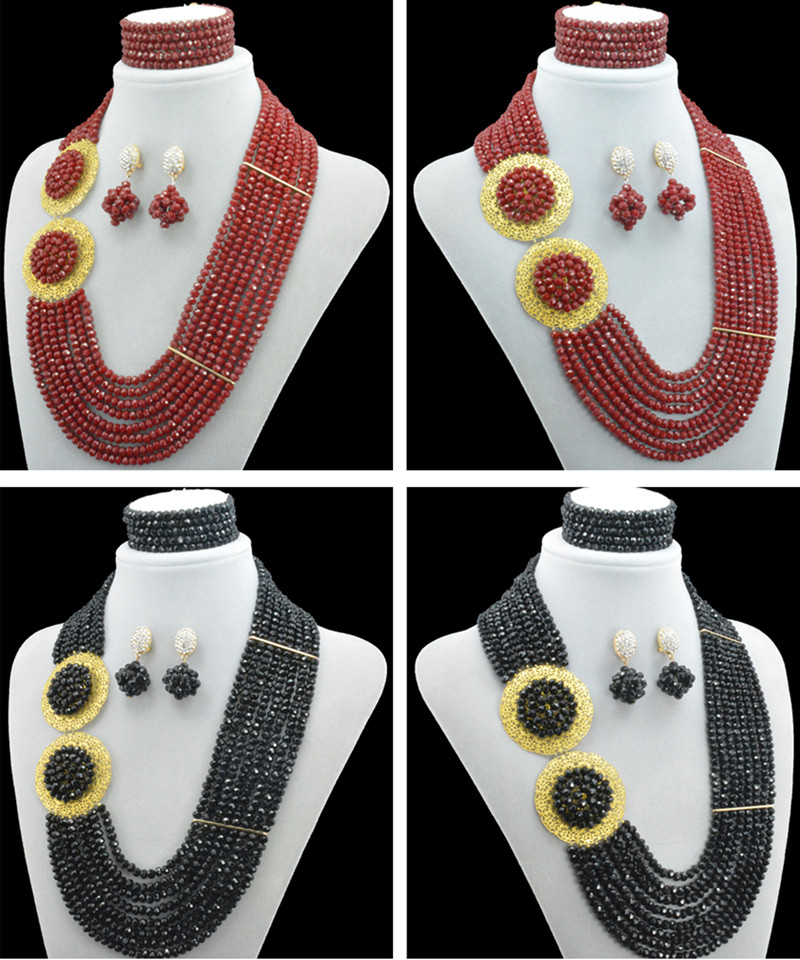 african necklace wedding jewelry african beads jewelry gold jewelry sets nigerian wedding african beads jewelry set african symbolism