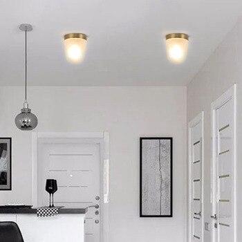 북유럽 철 아트 벽 램프 연구 통로 복도 계단 침실 거실 아크릴 현대 간단한 천장 조명 led 램프
