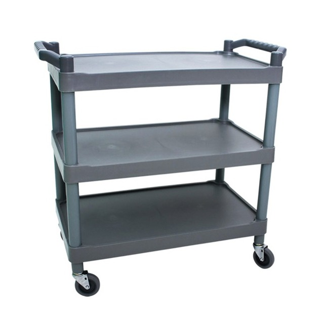 GFURNITURE Portable 4 Wheeled SERVING CART For Carrying Stuff Such As  Foods,books,heavy