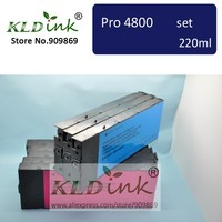 [KLD Ink] Compatible ink cartridge for Stylus Pro 4800 Printer ( 9 cartridges with chip and pigment ink )