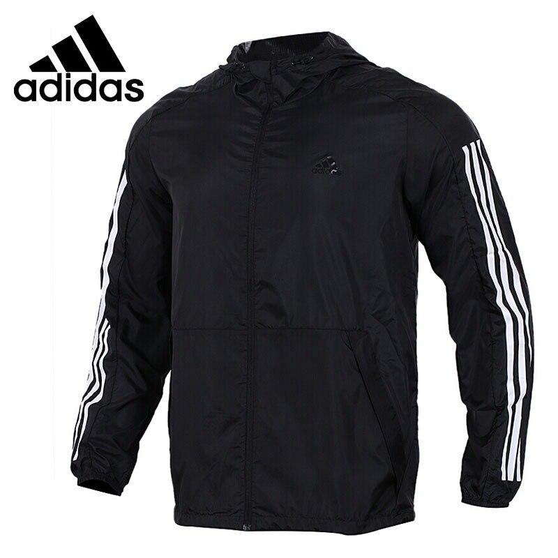 Original New Arrival  Adidas  Performance WB WV DATA Mens jacket Hooded SportswearOriginal New Arrival  Adidas  Performance WB WV DATA Mens jacket Hooded Sportswear