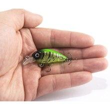 1PCS 4cm 4.5g Swim Fish Fishing Lure Artificial Hard Crank Bait topwater Wobbler Japan Mini Fishing Crankbait lure