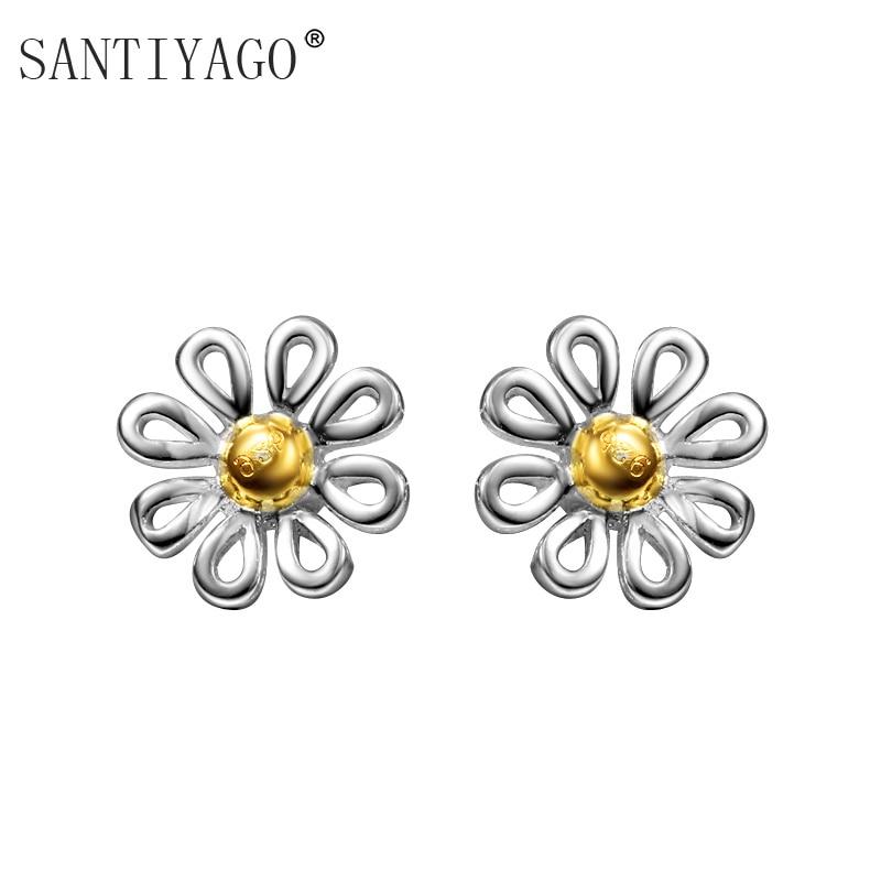 Wedding Jewelry Earring Wholesale Flower Designs Cut Stud
