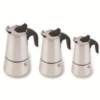 2 4 6 Cup Percolator Stove Top Coffee Maker Kettle Maker Moka Pot Espresso Kettles