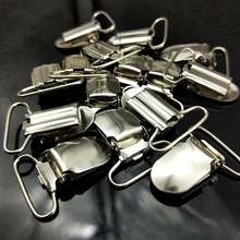 12 pcs/50 pcs/100 pcs Metal Pacifier Suspender Clips Garment Clips Craft for Bib Clips Toy Holder Clothes Sewing Accessory