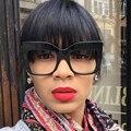 Модные Солнцезащитные Очки Женщин Негабаритных Солнцезащитные Очки Дамы Люксовый Бренд Дизайнер Для Женщин Фотохромные Оттенки UV400 Óculos YQ125