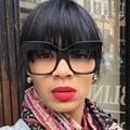 Senhoras Óculos de Sol Marca de Luxo Designer de moda Óculos De Sol Das Mulheres de Grandes Dimensões Para O Sexo Feminino Photochromic UV400 Shades Oculos YQ125
