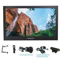 Wimaxit m1330 13.3 Polegada ips 1080 p alumínio habitação usb alimentado hdmi monitor de tela do jogo para ps3/ps4/x caixa/raspberry pi|Monitor| |  -