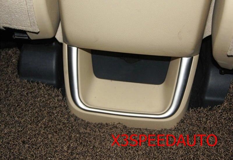 Interior Caixa De Armazenamento Luva Traseira Guarnição Para Toyota  Highlander 2014 2015 2016 2017 Frete Grátis Cromado